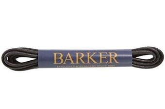 (75 cm, Black) - Barker Wax Laces - Premium Wax Laces