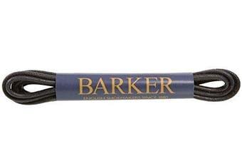 (65 cm, Black) - Barker Wax Laces - Premium Wax Laces