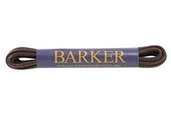 (65 cm, Brown) - Barker Wax Laces - Premium Wax Laces