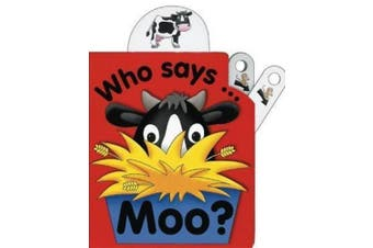 Flip Top: Who Says Moo? [Board book]