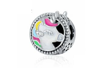 925 Sterling Silver Unicorn Charm Beads for Girl Charms Bracelet & NecklaceUnicorn