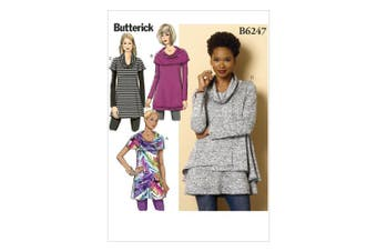 Butterick Patterns B62470Y0 Misses Tunic, Y (XSM-SML-MED)