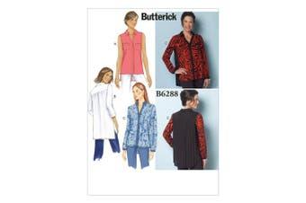 Butterick Patterns B6288 Misses' Shirt, B5 (8-10-12-14-16)