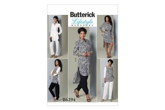 Butterick Patterns B6294 Misses' Tunic & Pants, F5 (16-18-20-22-24)
