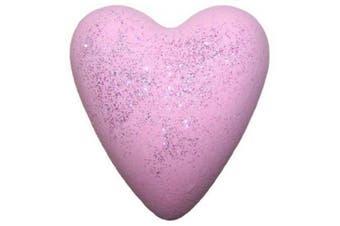 Megafizz Bath Hearts (Jasmine - with Glitter)