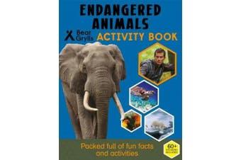 Bear Grylls Sticker Activity: Endangered Animals