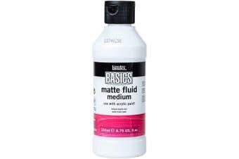 Liquitex BASICS Matte Fluid Medium, 250ml