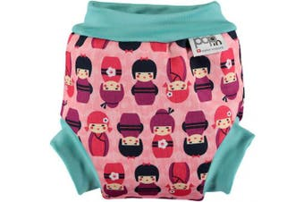 (Kokeshi, M) - Pop In Swim Nappy (Medium, Kokeshi Doll)