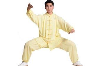 (XXX-Large, Black) - BJSFXDKJYXGS Tai Chi Uniform Luxurious Korean Cotton Silk Stretch Taichi Suits Traditional Tai Chi Clothing for Your Tai Chi Exercise