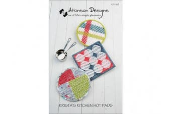(Krista's Kitchen Hot Pad) - Atkinson Designs: Krista's Kitchen Hot Pads Pattern