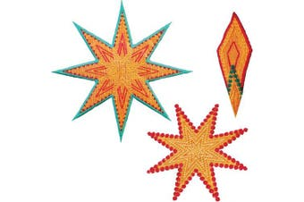 AccuQuilt GO! Fabric Cutting Dies, Star 8 Point by Sarah Vedeler
