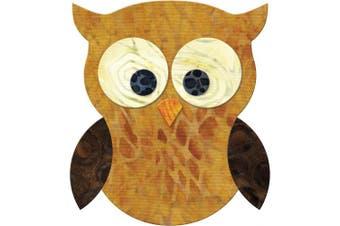 Go! Fabric Cutting Dies-Owl 4x4.5