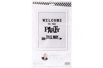 American Crafts Heidi Swapp Letterboard 31 Piece Kit Party