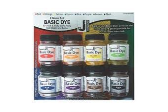 Jacquard Basic Dye Set, Includes 240ml Jars