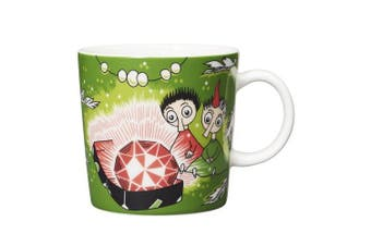 Arabia Moomin Thingumy & Bob & King's Ruby Ceramic Mug Cup