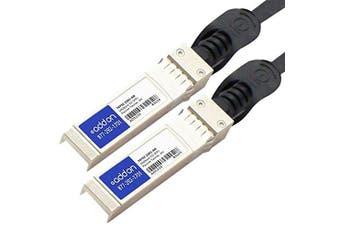 AddOn Molex 74752-2301 Compatible TAA Compliant 10GBase-CU SFP+ to SFP+ Direct Attach Cable (Passive Twinax, 3m)