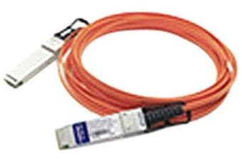AddOn Mellanox MC220731V-005 Compatible TAA Compliant 56GBase-AOC QSFP+ to QSFP+ Direct Attach Cable (850nm, MMF, 5m)