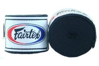 (300cm , Black) - Fairtex Elastic Cotton Handwraps HW2-120 and 460cm - Full Length Hand Wraps. Many Colours
