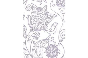 Couture Creations Embossing Folder My Garden All Ocassions Collection, Transparent