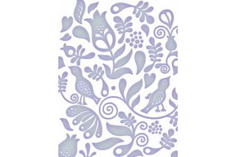 Couture Creations Embossing Folder Flint Fresh and Fun Collection, Transparent
