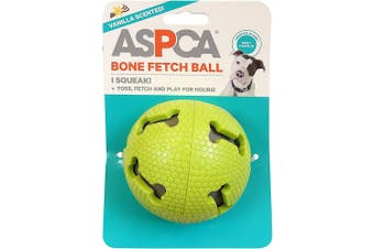 (Green) - ASPCA Bone Fetch Ball Dog Toy