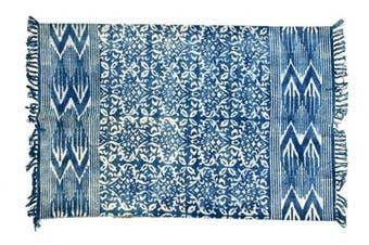 (4 X 6 ft (120 X 180 cm), Multi_04) - Jaipur Handloom Indian Area Rug Handmade Rag Rug, Carpet Runner, Large Multicolor Colourful Indian Dhurrie, Floor Mat Bohemian Boho Decorative Accent Weave Rag Rug (4 X 6 ft (120 X 180 cm), Multi_04)