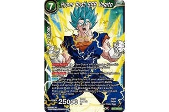 Dragon Ball Super TCG - Hyper Rush SSB Vegito - Series 3 Booster: Cross Worlds - BT3-063