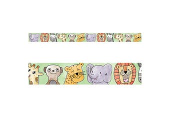 Creative Teaching Press Border Safari Friends Ctp 8337 with