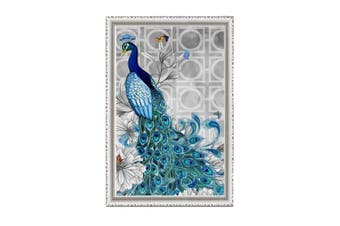 (33cm *46cm , peacock 1) - Adarl 5D DIY Diamond Painting Rhinestone Pictures Of Crystals Embroidery Kits Arts, Crafts & Sewing Cross Stitch Peacock 1