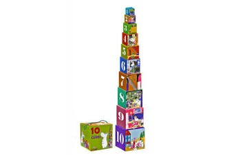 Moomin - Stacking cubes - Classic (Barbo-Toys) [7253]