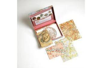 Pepin Letter Writing Set, 40 Sheets of 15cm X 21cm paper and Envelopes, Maps (00026)