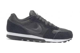 (2.5 UK, Black (Black/Black White 001)) - Nike Md Runner 2, Women's Running Shoes