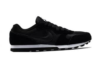 (6 UK, Black (Black/Black White 001)) - Nike Md Runner 2, Women's Running Shoes