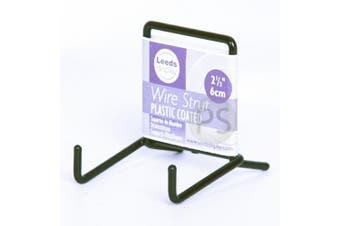 "Display Stand : Mini Black Wire Strut : 2"" 5cm : ST01BL : Plate & Bowl Support"