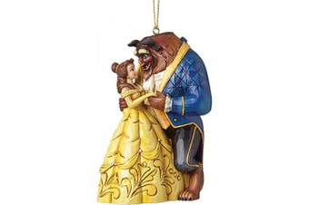 (The Beast Hanging Ornament) - Disney Traditions Beauty and The Beast Hanging Ornament