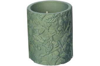 Candellana Candles Candlefort Candles Concrete Tranquilly Alligator Green, Scent: for Him