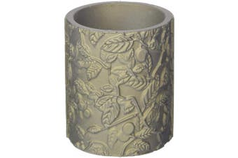 Candellana Candles Candlefort Candles Concrete Tranquilly Golden Brown, Scent: for Him