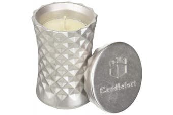 Candellana Candles Candlefort Candles Concrete Poly II-Silver, Scent: for Him