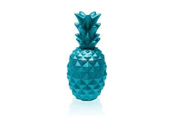Candellana Candles Candlefort Candles Concrete Pineapple Marine Blue, Scent: for Him