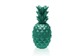 Candellana Candles Candlefort Candles Concrete Pineapple Turquoise, Scent: for Him