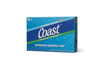 (1 Pack , 16 Count) - Coast Classic Original Scent Bar Soap - 120ml (16 Bars)