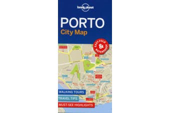 Lonely Planet Porto City Map (Map)