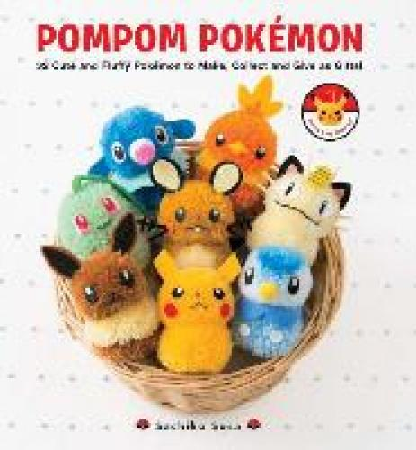 Pompom Pokemon (Pompom Pokemon) Make pompom versions of your favorite Pokemon!  This book contains 32 patterns with photographs and instructions for pompom versions of popular Pokemon like Pikachu, Charmander, Snorlax and Bulbasaur. Gotta make 'em all!