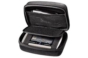 Gps Navigation Black Hard Carry Case For Garmin Drive 50LM 51 LMT-S 40LM DriveAssist 50LMT-D 51 LMT-S DriveSmart 50LM 50LMT-D 51 LMT-S DriveLuxe 50LMT-D 51 LMT-S 13cm GPS Sat Nav With Accessory Storage and Lanyard