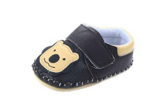 (12-18 Months, Black Lion) - Lidiano Baby Non Slip Rubber Sole Cartoon Walking Slippers Crib Shoes Infant/Toddler (12-18 Months, Black Lion)