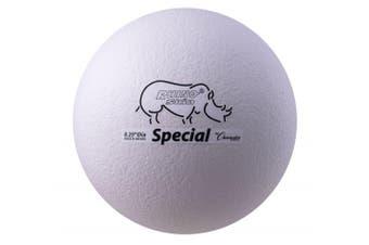 (White) - Olympia Sports BA343P Rhino Skin 8.25 in. Special Ball - White