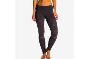 (Medium (US Size) (US Size), Stormy Heather/Stormy Heather) - Alo Yoga Women's Moto Legging