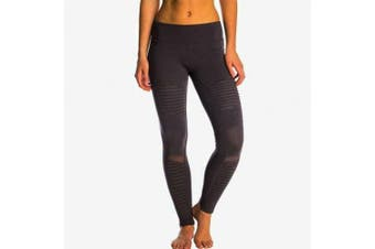 (Large (US Size) (US Size), Stormy Heather/Stormy Heather) - Alo Yoga Women's Moto Legging
