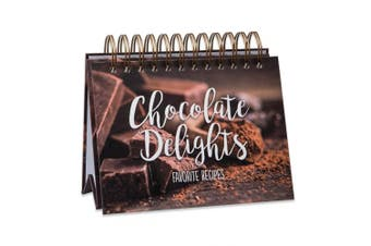 Brownlow Gifts Easel Recipe Book, Chocolate Delights