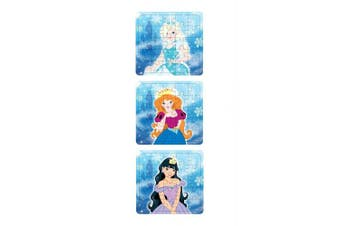 ALANNAHS ACCESSORIES 10 Girls Princess Ice Puzzle 13X12cm Party Bag To Loot Fillers